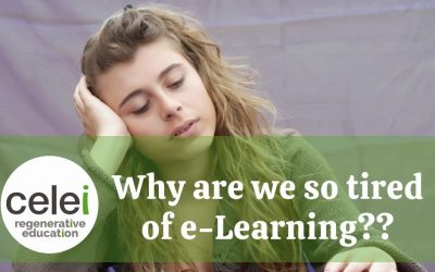 Why are we so Tired of e-Learning?
